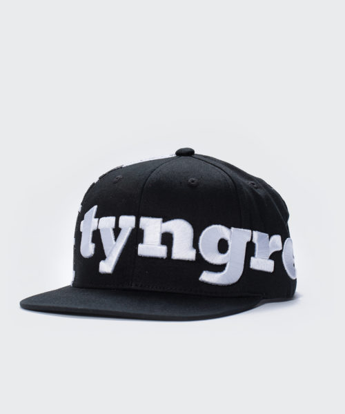Tyngre White Black Cap Snapback Sida Keps