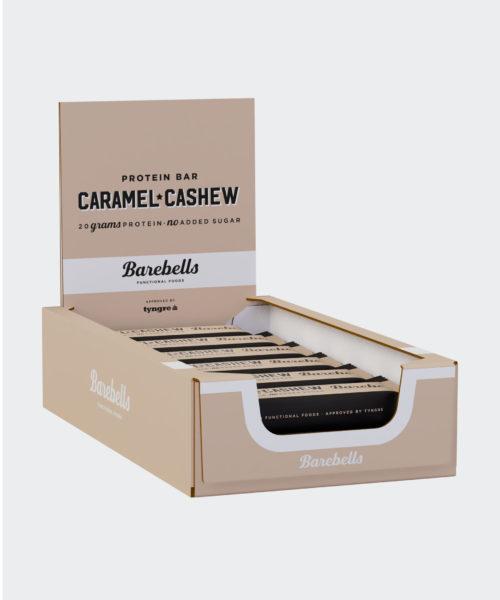 Tyngre Barebells Proteinbar Caramel Cashew