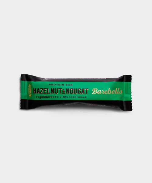 Tyngre Proteinbar Hazelnut Nougat Kosttillskott