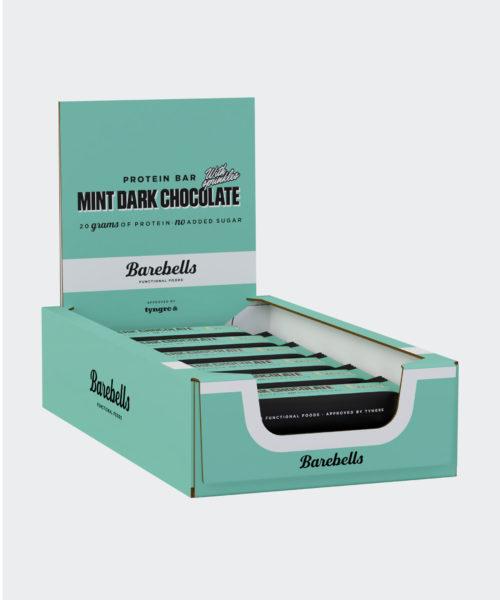 Tyngre Barebells Proteinbar Mint Dark Chocolate Kosttillskott