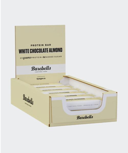 Tyngre Barebells Proteinbar White Chocolate Almond Kosttillskott