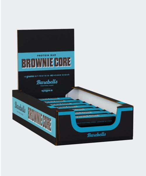 Tyngre Barebells Proteinbar Brownie Kosttillskott