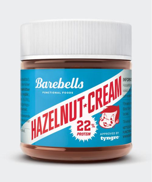 Tyngre Barebells Hazelnut Cream Kosttillskott
