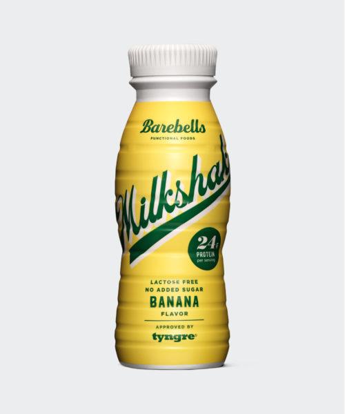 Tyngre Barebells Milkshake Banana Kostillskott