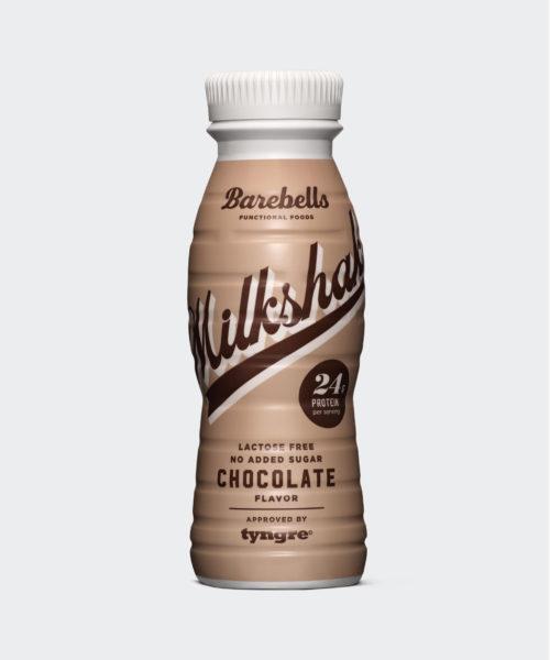 Tyngre Barebells Milkshake Chocolate Kosttillskott