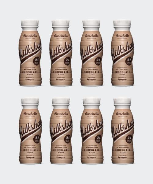 Tyngre Barebells Milkshake Chocolate Kostillskott