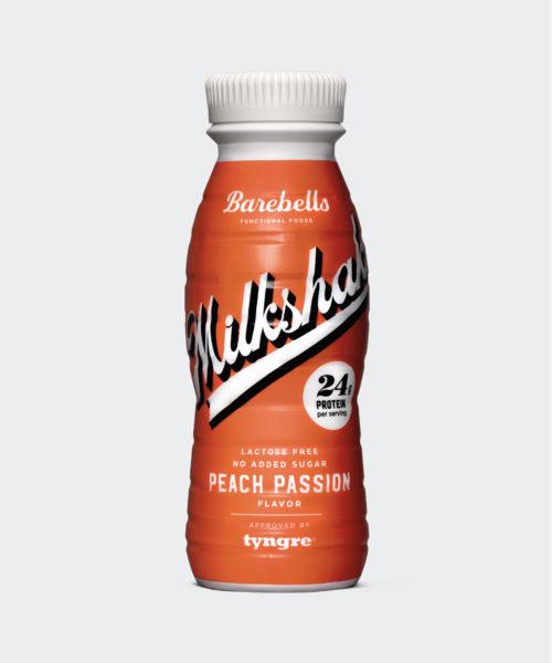 Tyngre Barebells Milkshake Peach Kosttillskott