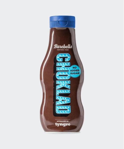 Tyngre Barebells Chokladsås Glass Kosttillskott