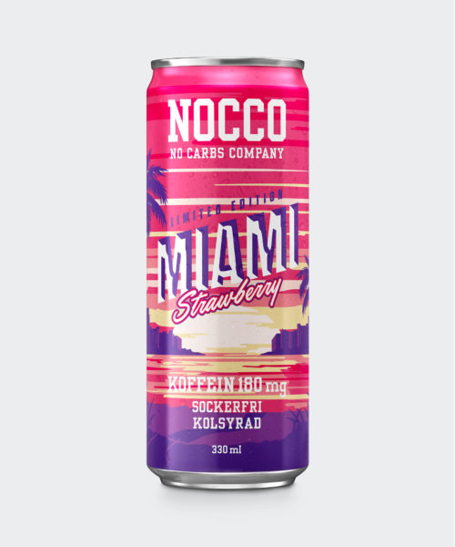 Tyngre NOCCO BCAA Miami Strawberry