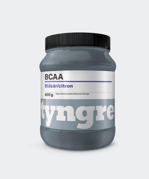 Tyngre BCAA Blåbär Citron Kosttillskott Aminosyror