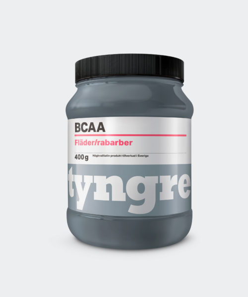 Tyngre BCAA Fläder Rabarber Kosttillskott Aminosyror