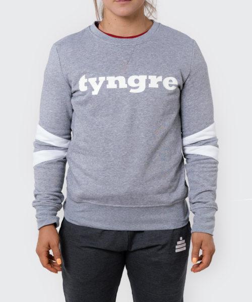 Tyngre Collegetröja Grå Dam