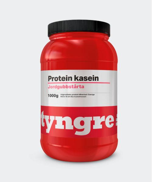 Tyngre Kasein Jordgubbstårta Kosttillskott Proteinpulver Casein