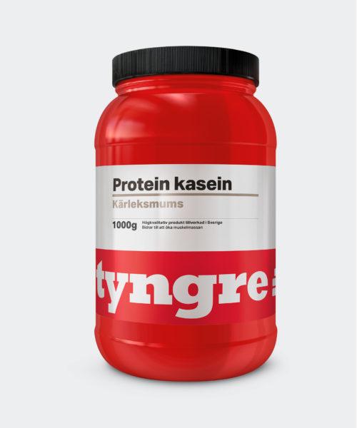 Tyngre Kasein Kärleksmums Proteinpulver Casein