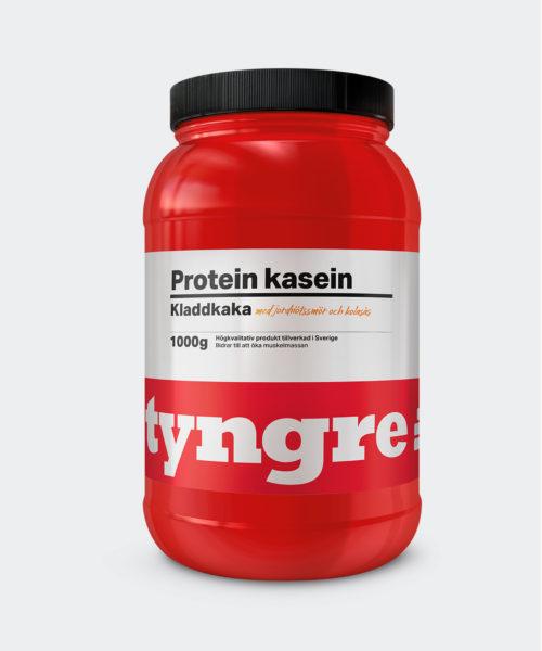 Tyngre Kasein Kladdkaka Jordnötssmör Kolasås Kosttillskott Proteinpulver Casein