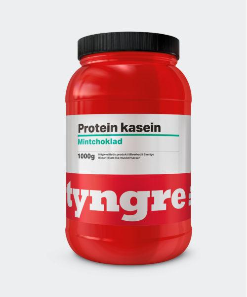 Tyngre Kasein Mintchoklad Kosttillskott Proteinpulver Casein