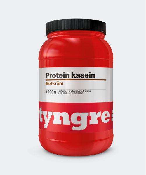 Tyngre Kasein Nötkräm Kosttillskott Proteinpulver Casein