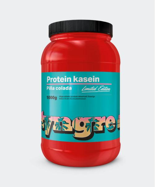 Tyngre Kasein Pina Colada Limited Kosttillskott Proteinpulver Casein