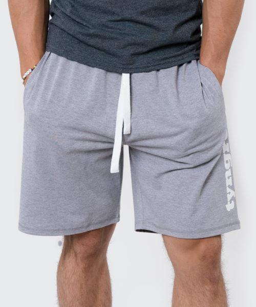 Tyngre Ljusgrå Shorts Träningsshorts