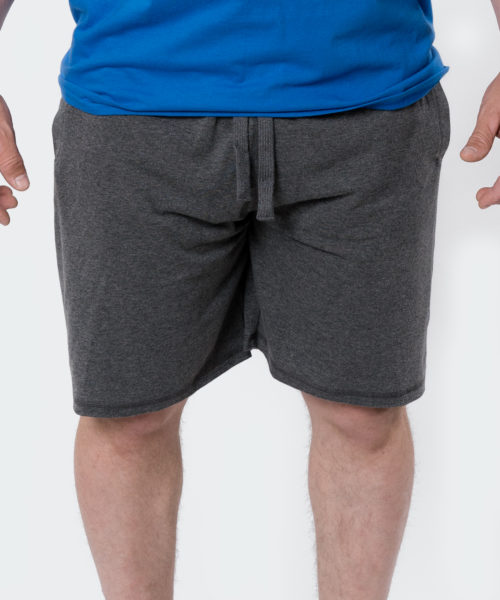 Tyngre Mörkgrå Shorts Träningsshorts