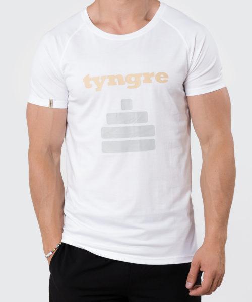 Tyngre Performance T-shirt Legend Vit Herr Funktionströja