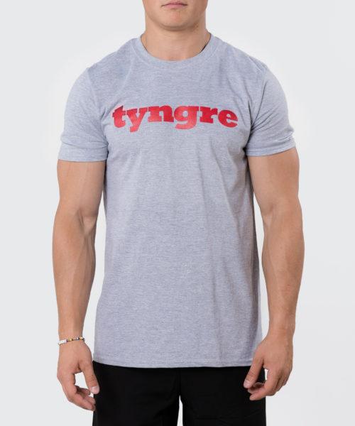 Tyngre T-Shirt Ljusgrå Herr Tränings T-Shirt