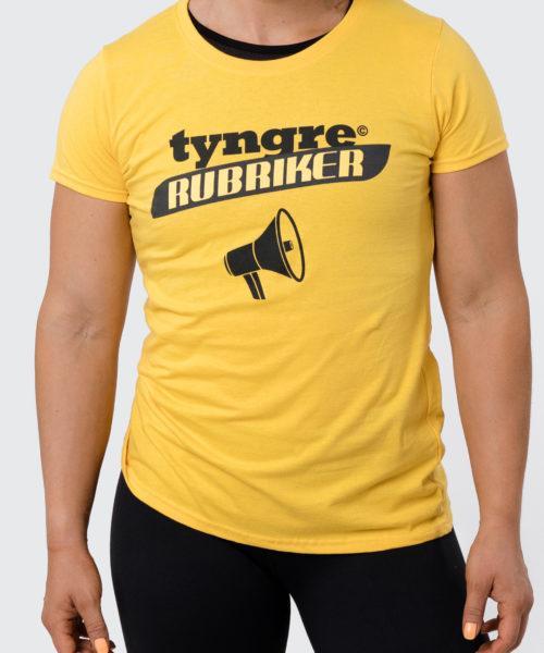 Tyngre T-Shirt Rubriker Dam Tränings T-Shirt