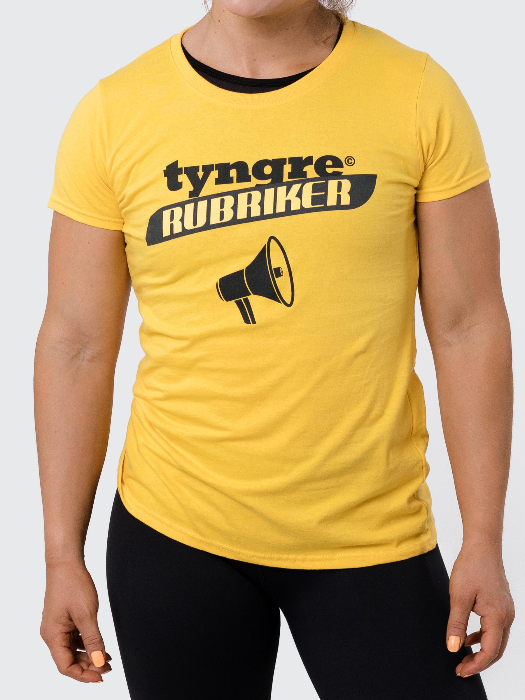 T-shirt Rubriker Dam
