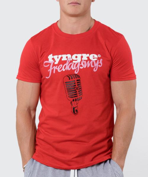 Tyngre T-shirt Fredagsmys Herr Tränings T-Shirt