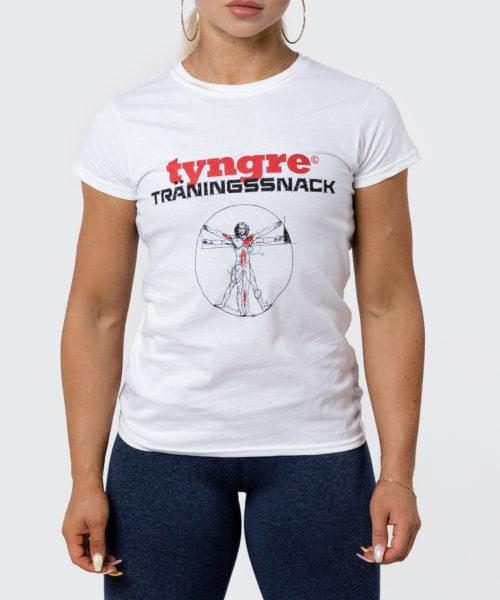 Tyngre T-shirt Träningssnack Dam Tränings T-Shirt
