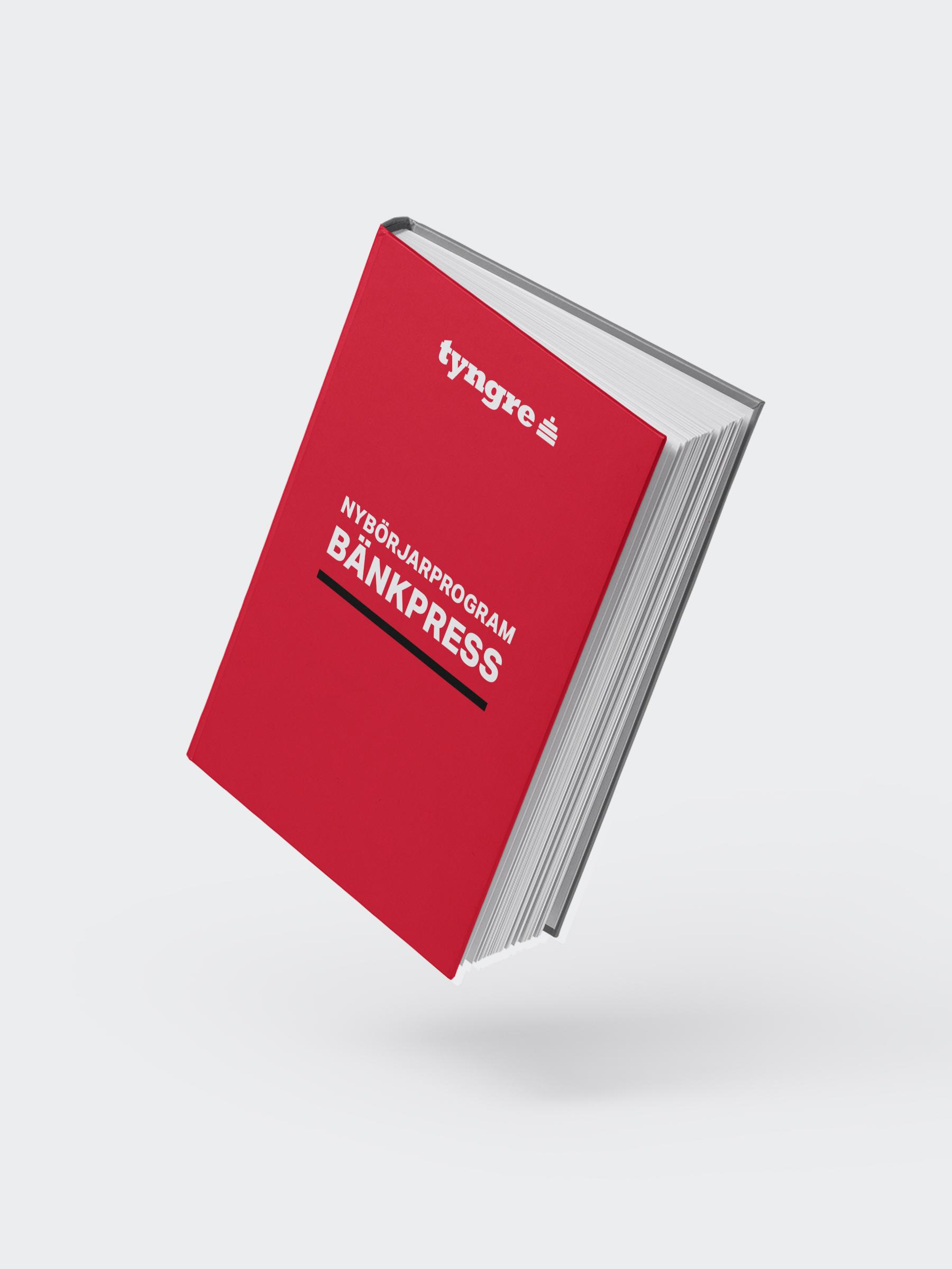 Tyngre nybörjarprogram: Bänkpress (e-bok)