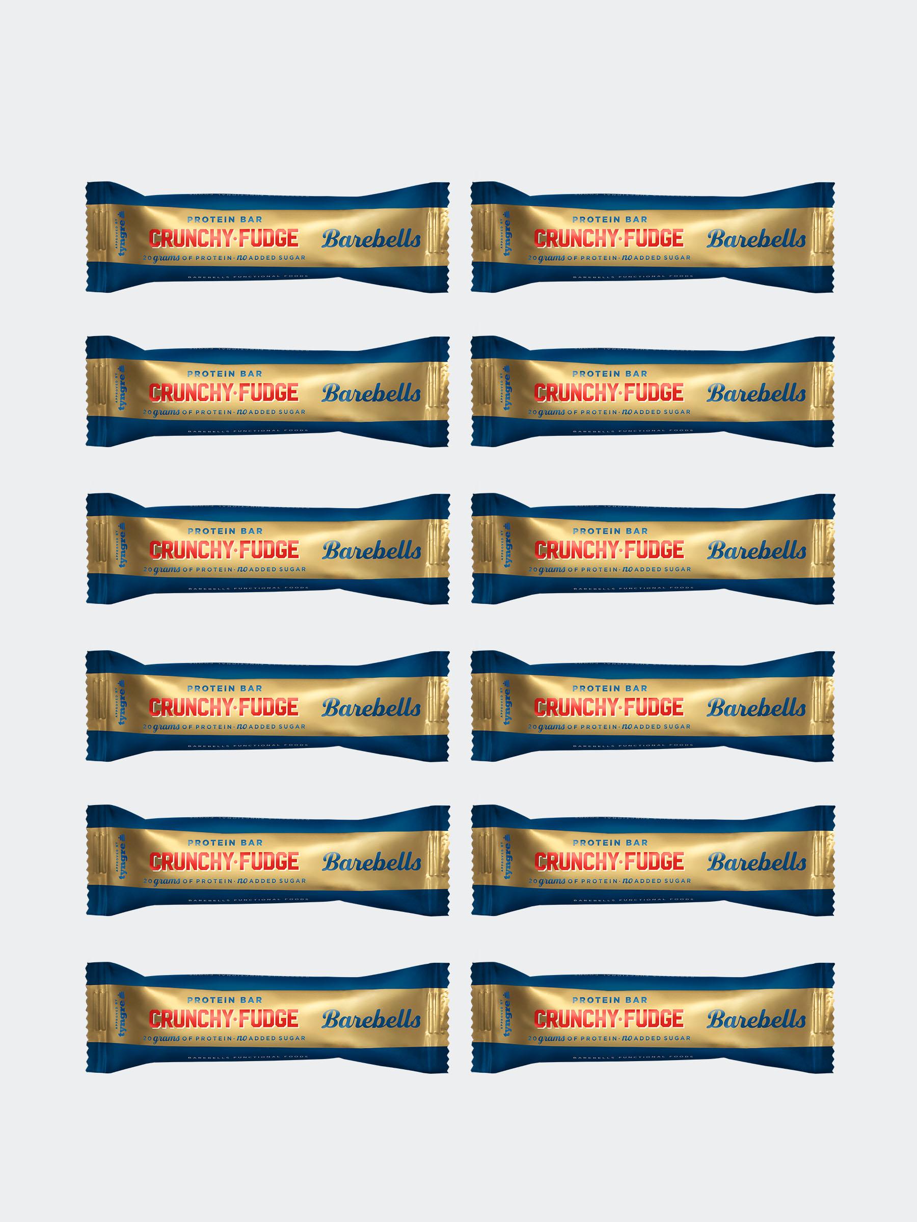 Barebells Crunchy Fudge 12-pack