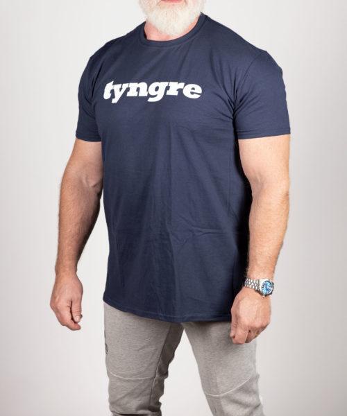 Tyngre T-shirt Mörkblå Herr