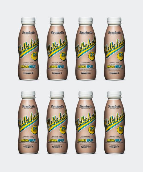 Barebells Milkshake Banana Split 8-pack