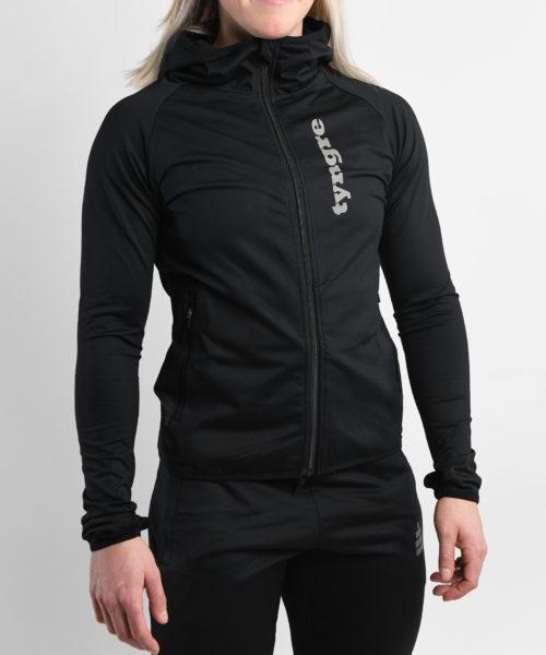 Zip-Hoodie Heat Black