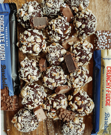 Chokladbollar ala Barebells