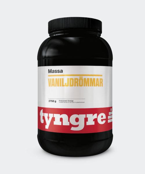 Tyngre Massa Vaniljdrömmar Gainer