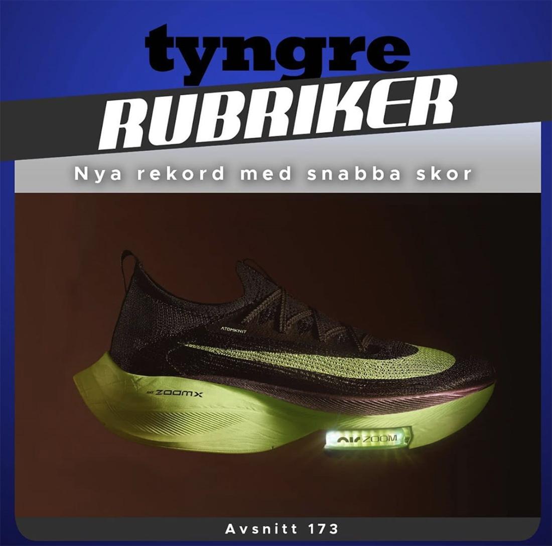 Nya rekord med snabba skor