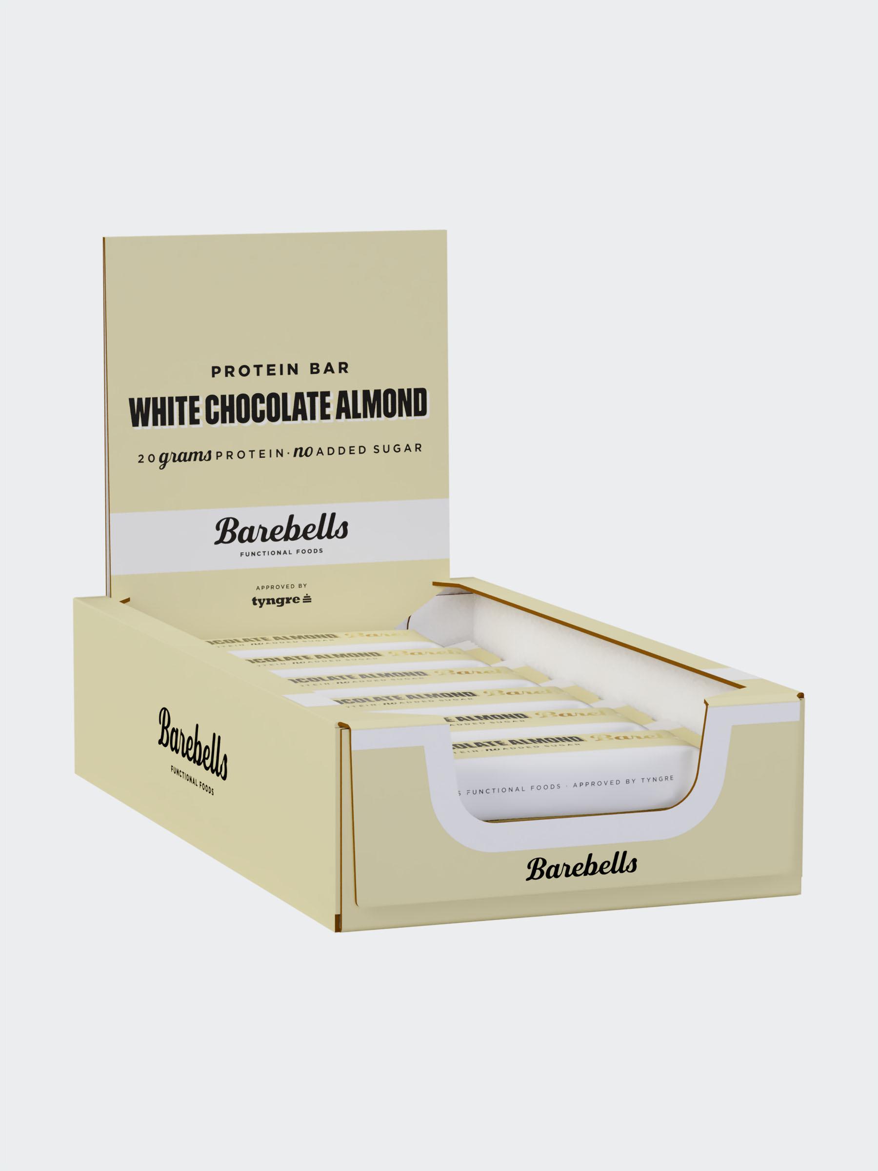 Barebells White Chocolate Almond 12-pack