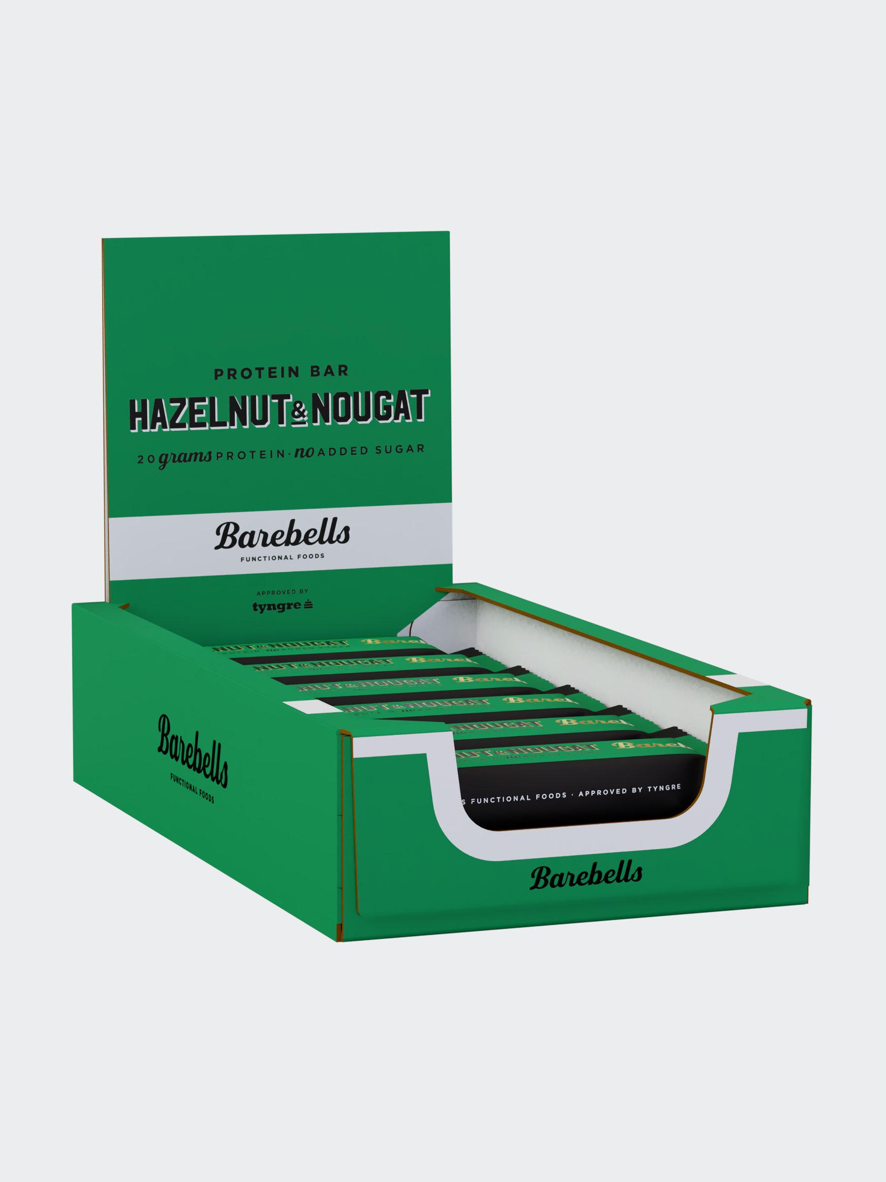 Barebells Hazelnut & Nougat 12-pack
