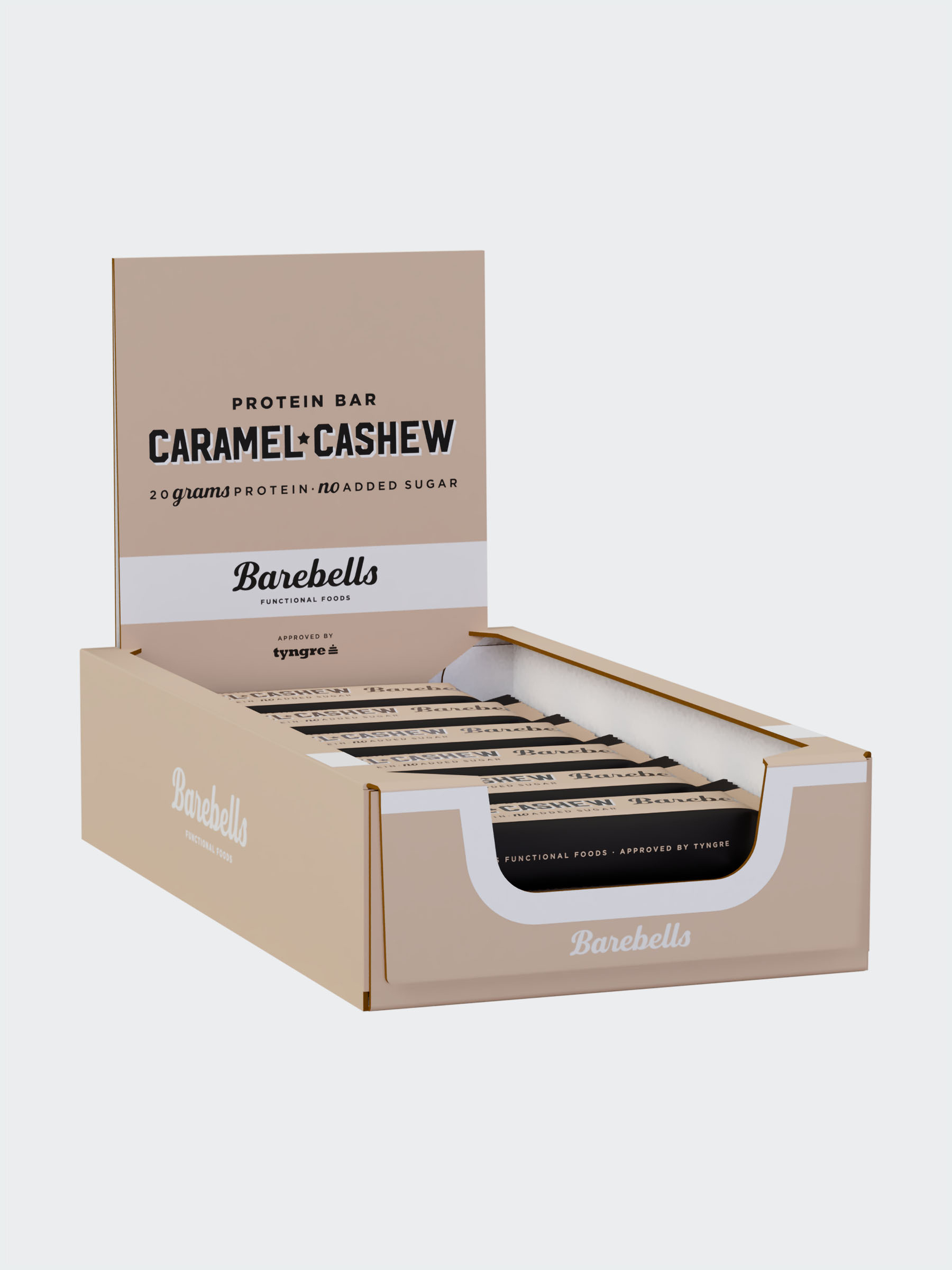 Barebells Caramel-Cashew 12-pack