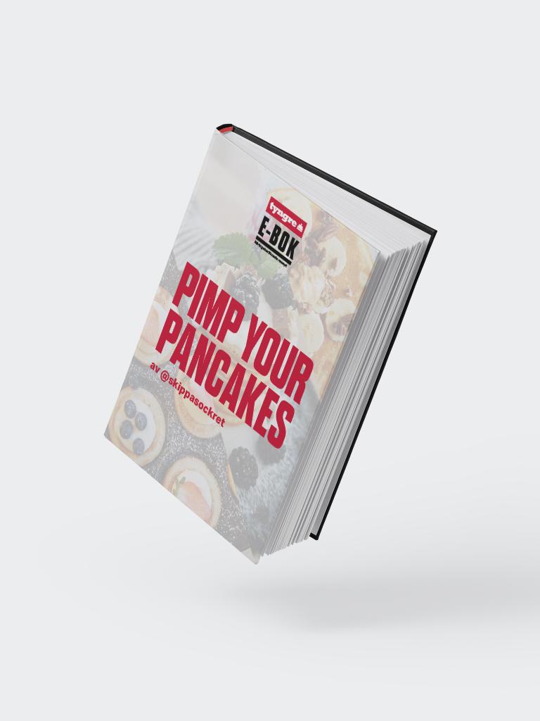 Pimp your Pancakes av @skippasockret (e-bok)