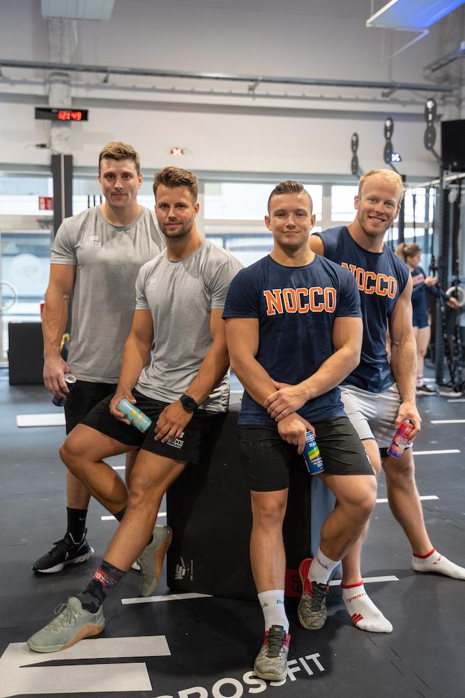 Linus, Alex, Victor och Simon