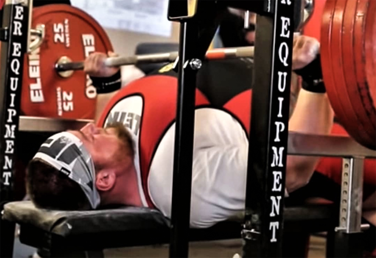 Vill du bänka 250 kg? Lär dig av Joel Sundelin.