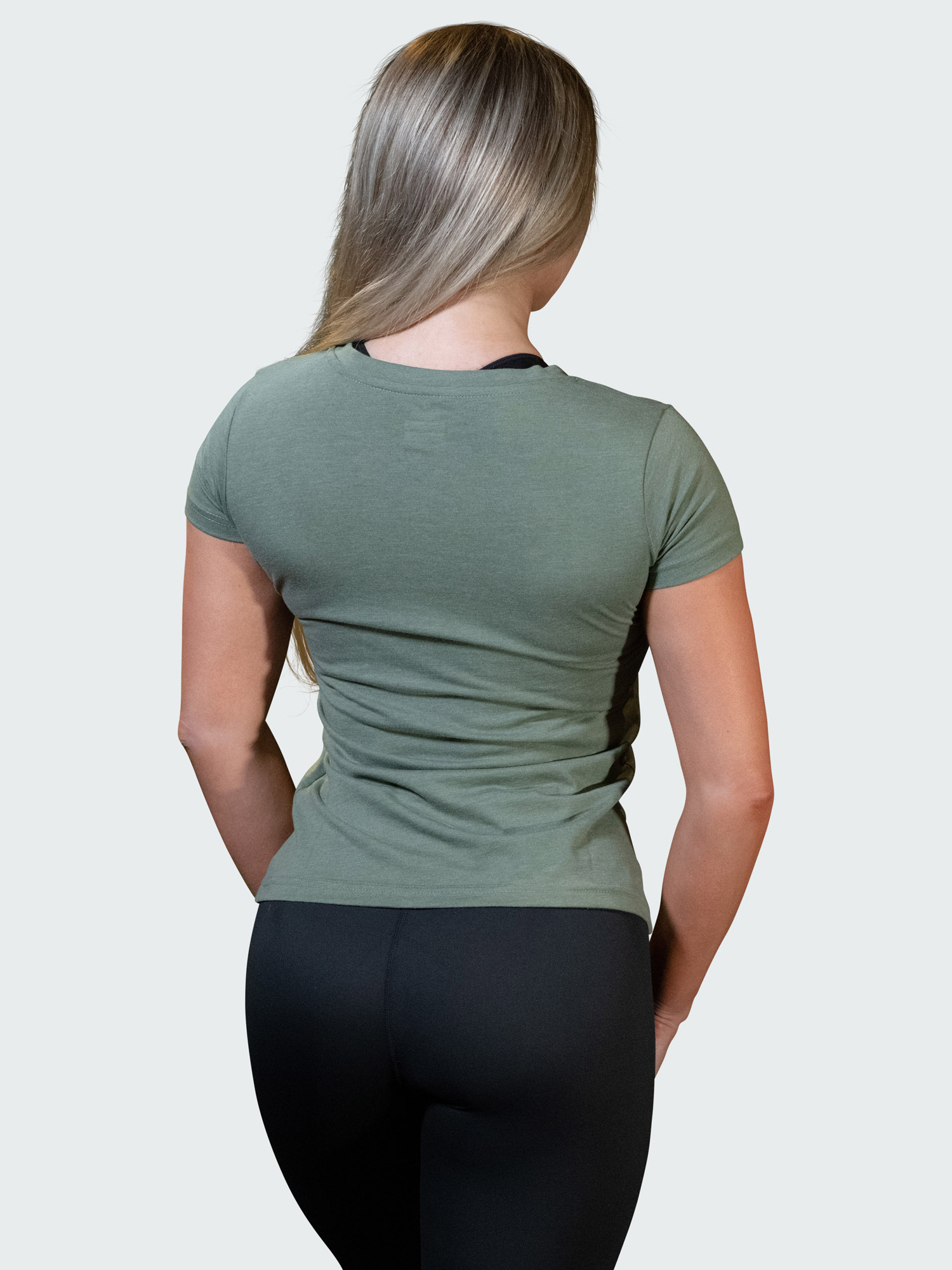 T-Shirt Logo Womens Green