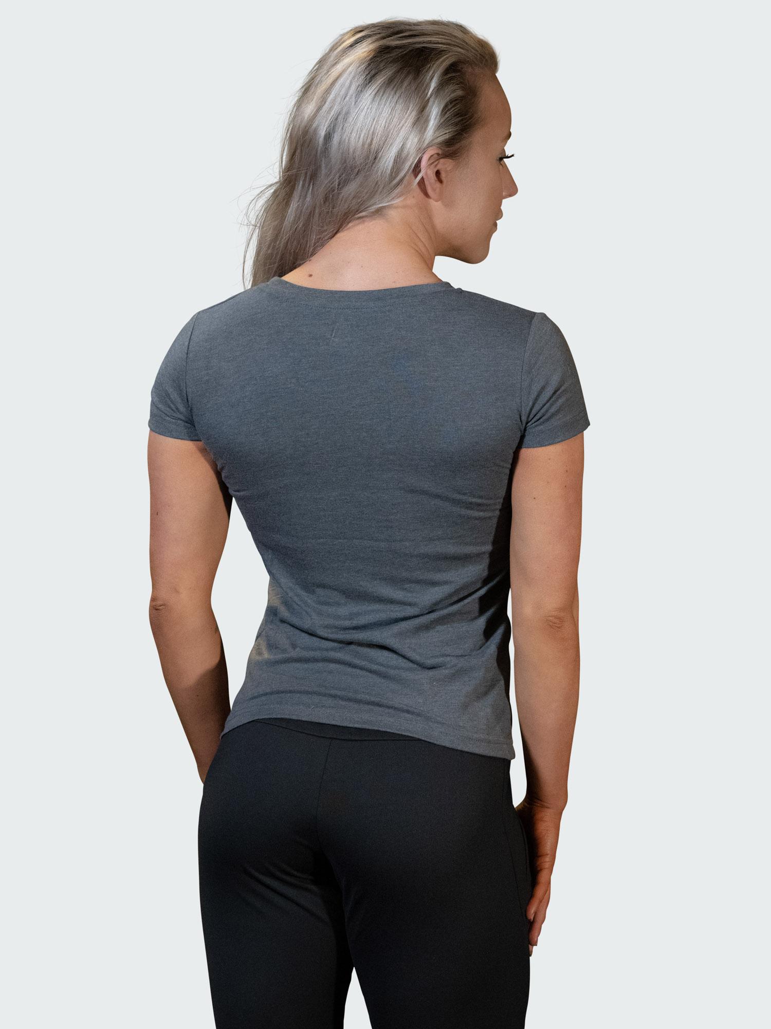 T-Shirt Logo Womens Dark Gray