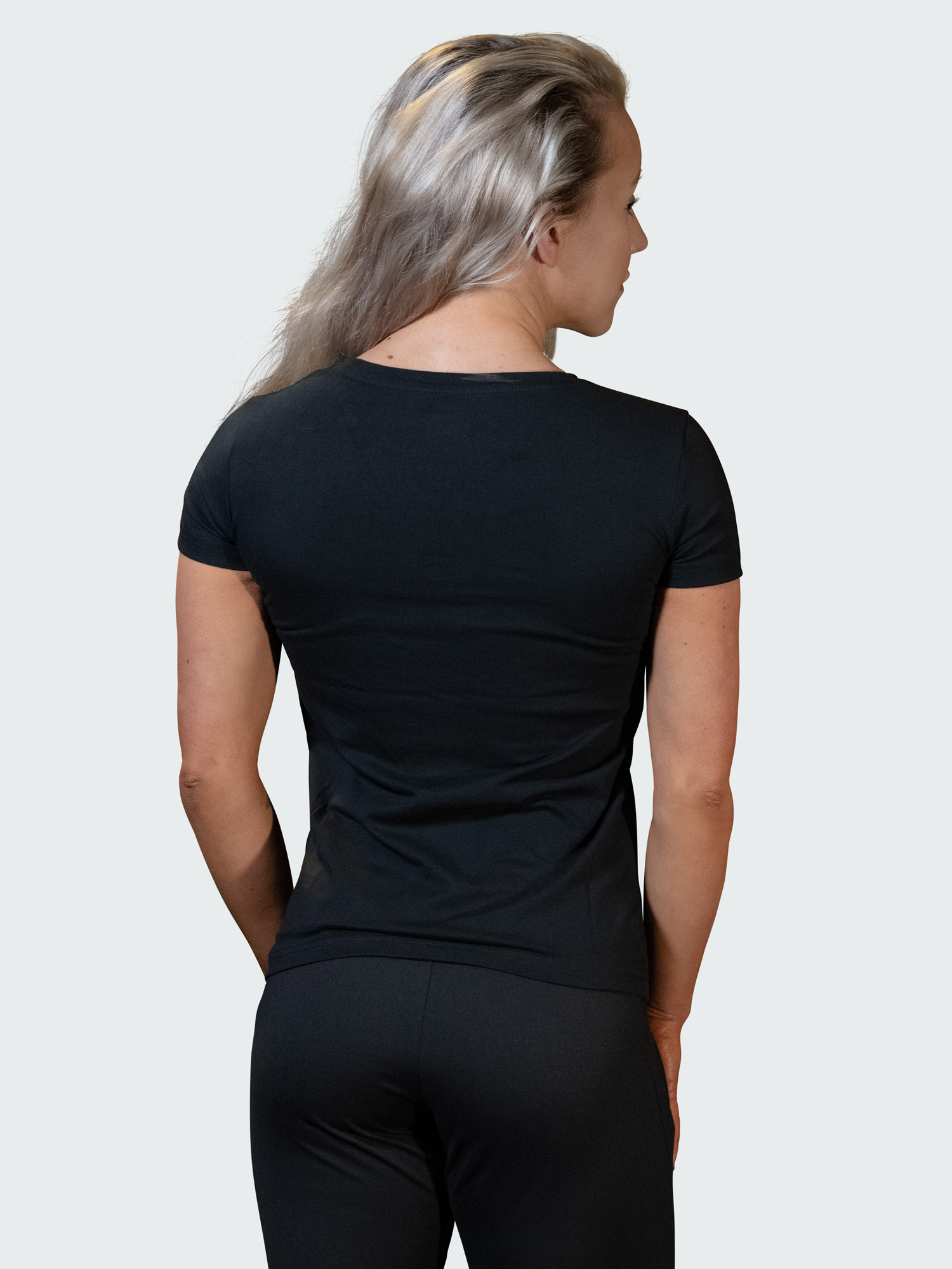 T-Shirt Logo Womens Black