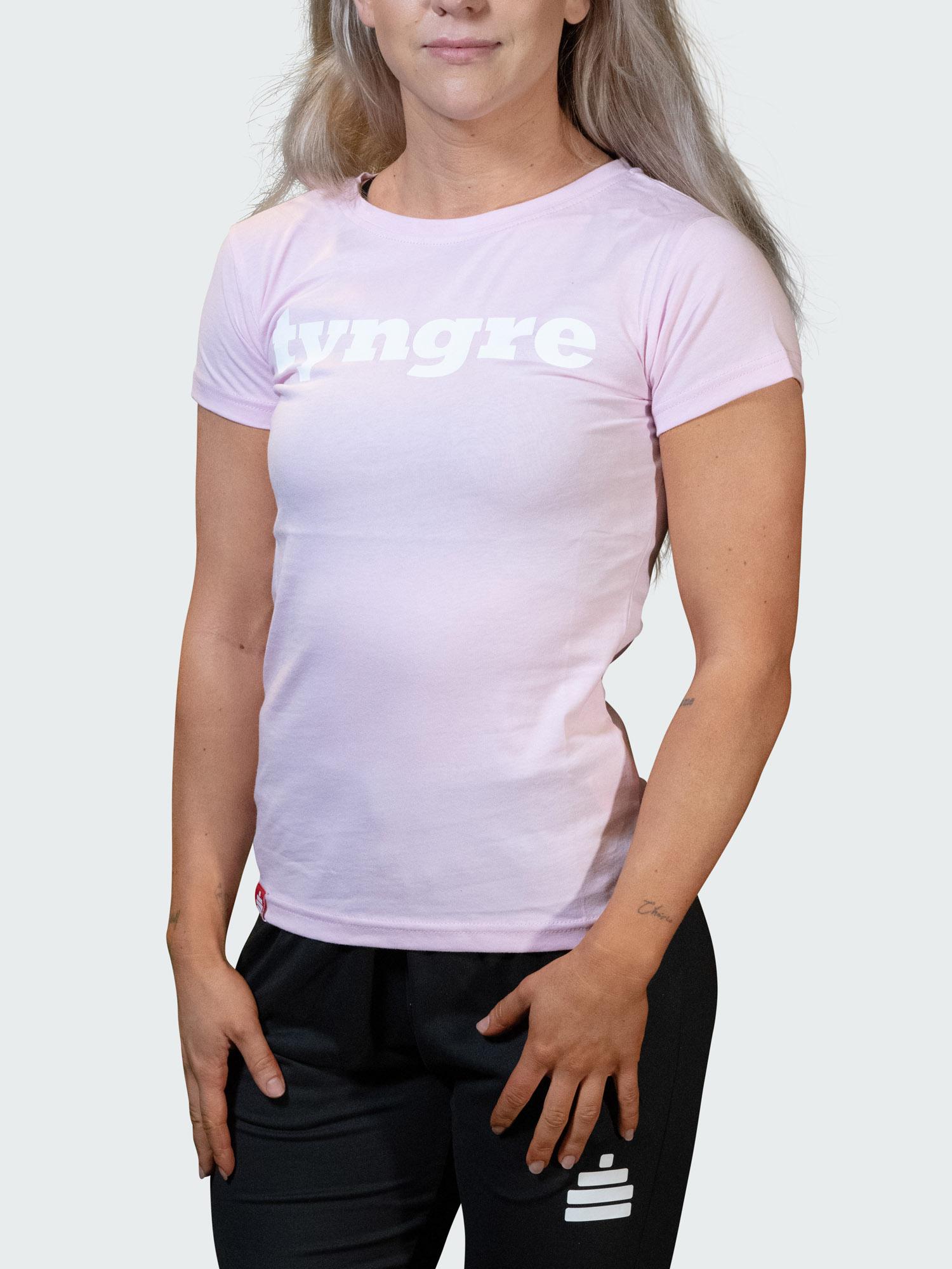 T-Shirt Logo Womens Pink