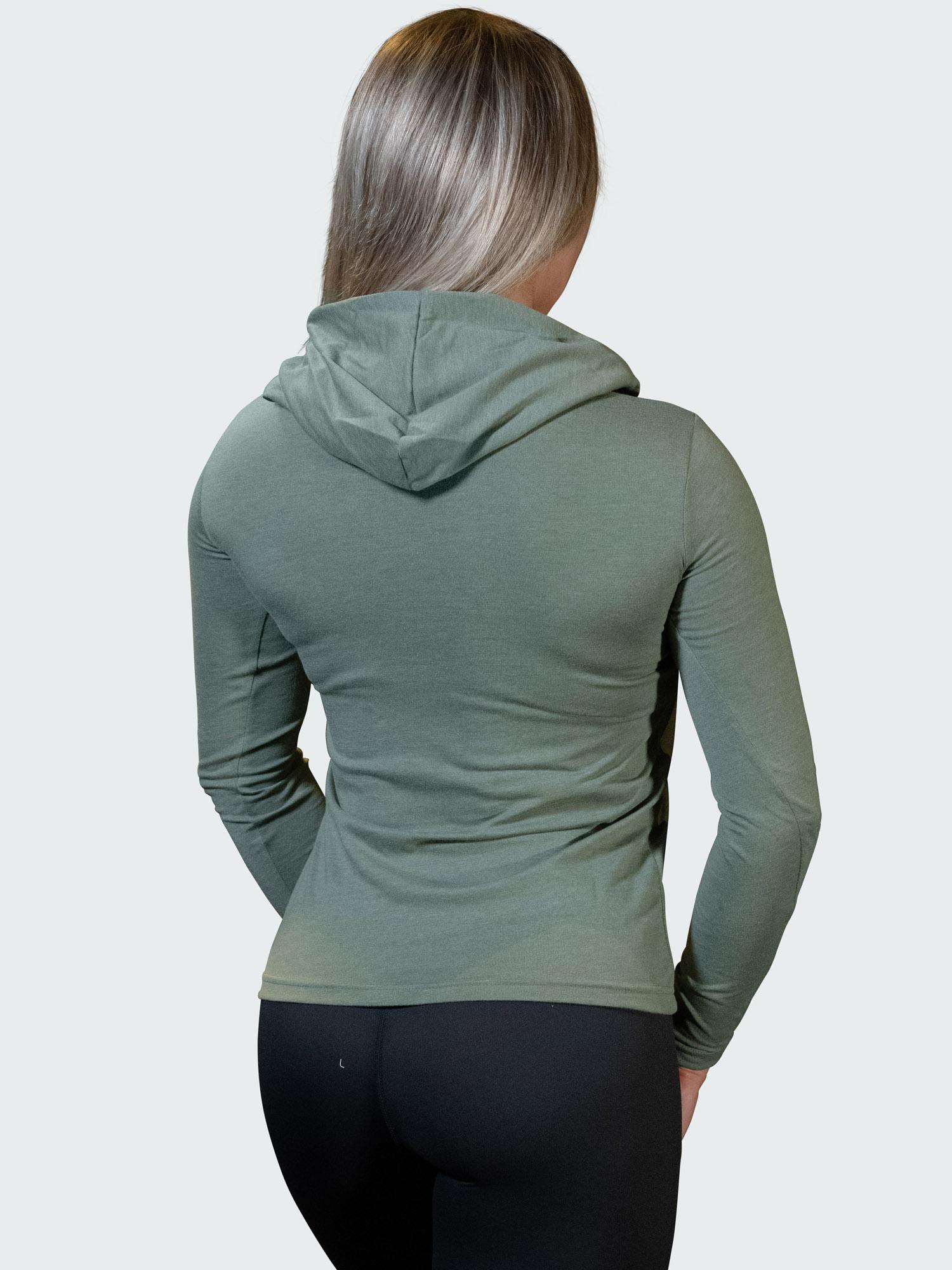 Hoodie Flow Womens Green