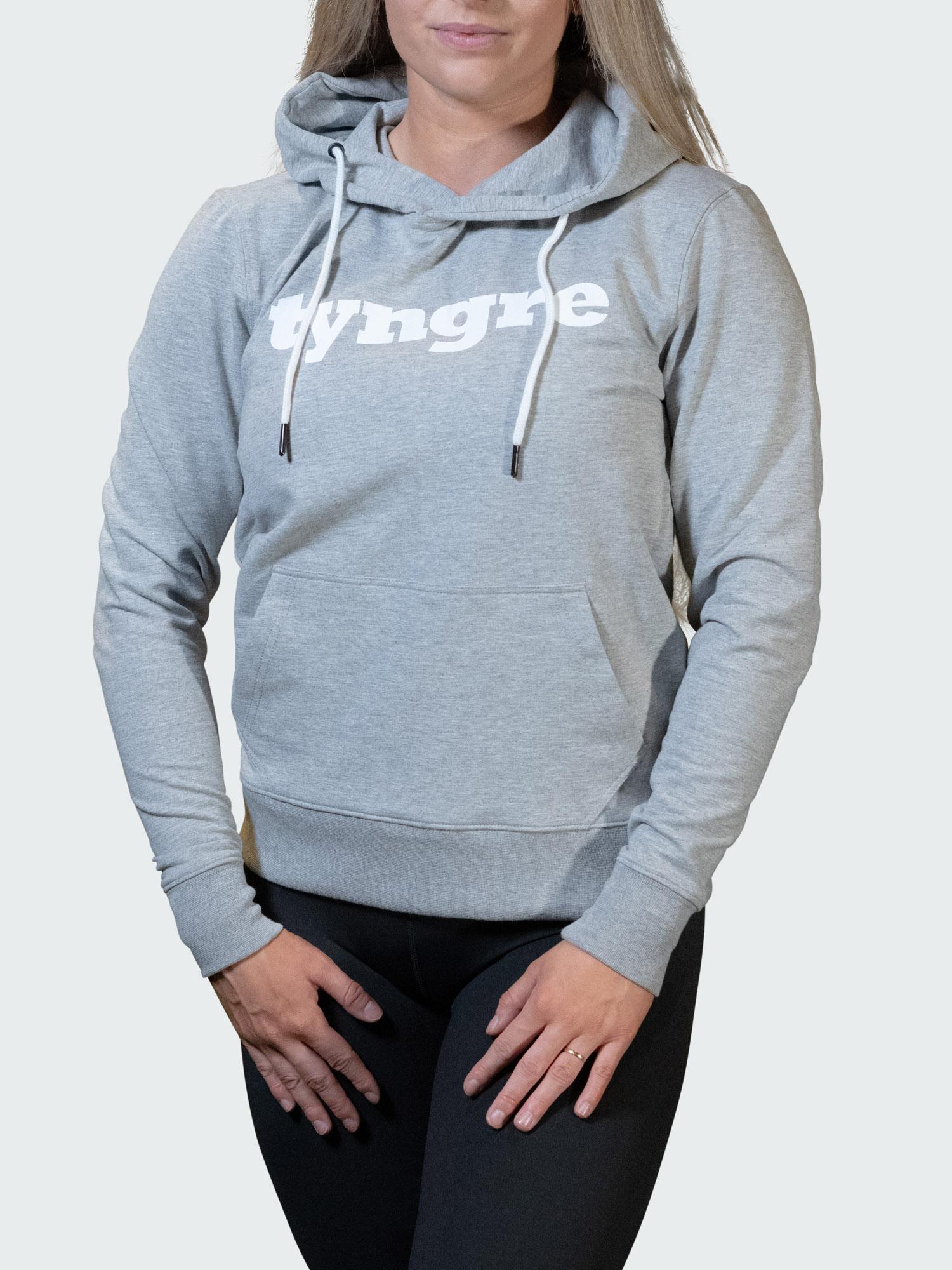 Hoodie Work Womens Light Gray